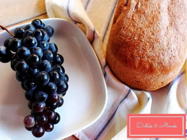 szőlőmaglisztes kenyér honlapra