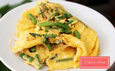 Diétás reggeli #1: Spárgás tojáslepény