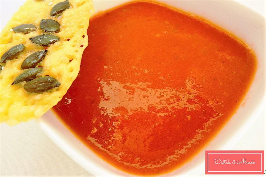 paradicsom leves sajt chips szénhidrát diéta