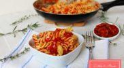 15 perces paradicsomos-kolbászos tészta