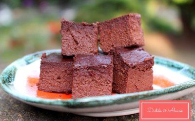 Nagyon csokis cukkinis brownie