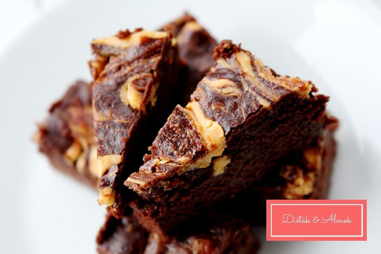Mogyorós-sütőtökös brownie – liszt és cukor nélkül