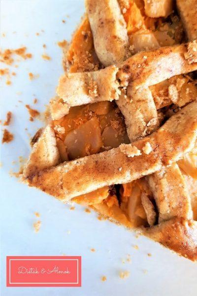 sütőtök almás pite szénhidrát diéta cukorbetegség inzulinrezisztencia