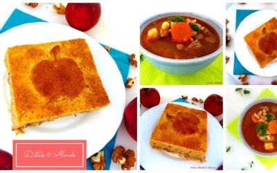 Kényeztető menü hétvégére: pulykagulyás és feketeribizlis almáspite