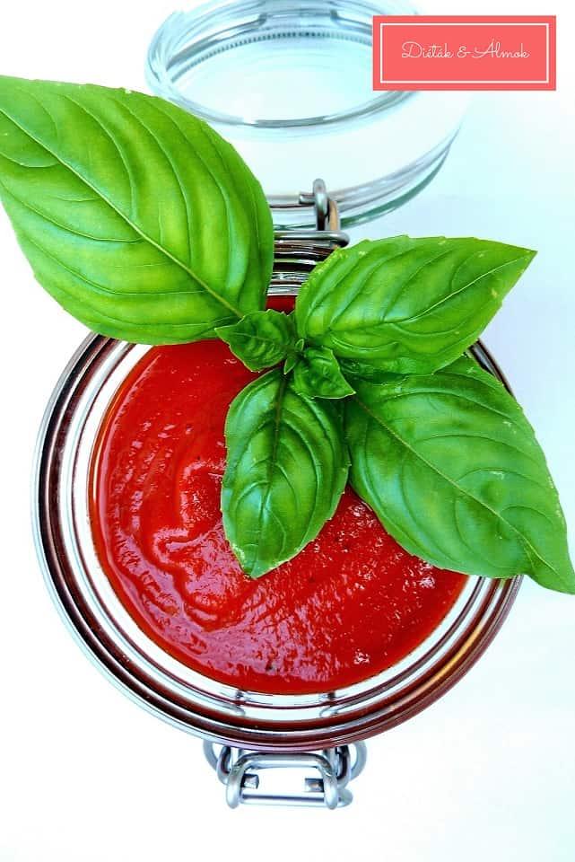 cukormentes házi ketchup szénhidrát diéta cukorbetegség inzulinrezisztencia