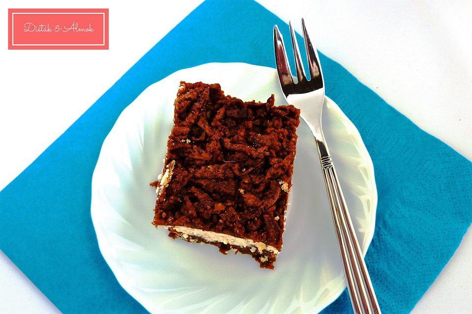 kakaós túrós reszelt sütemény szénhidrát diéta cukorbetegség inzulinrezisztencia