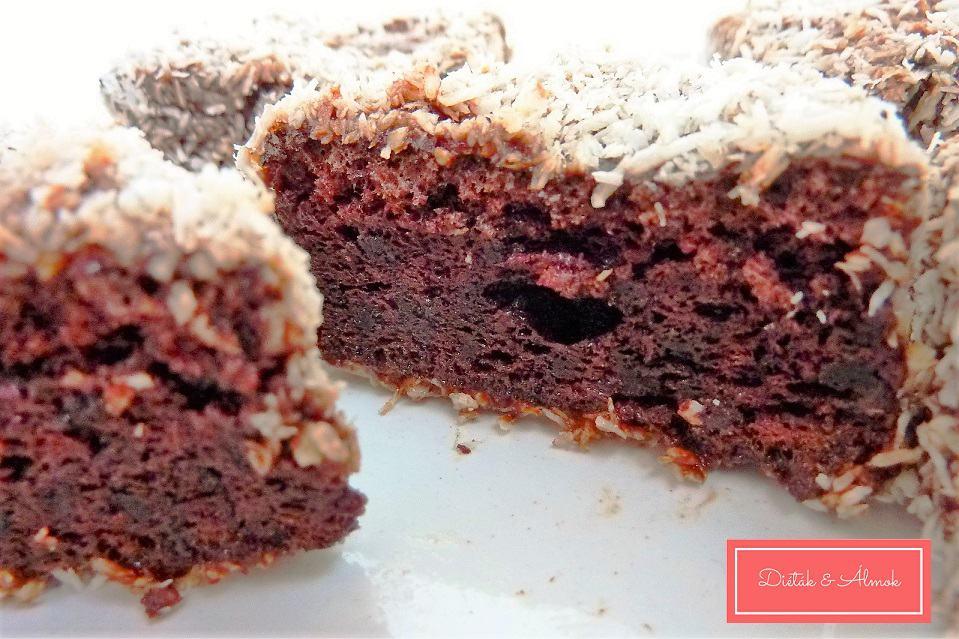 csokis kókusz kocka szénhidrát diéta cukorbetegség inzulinrezisztencia