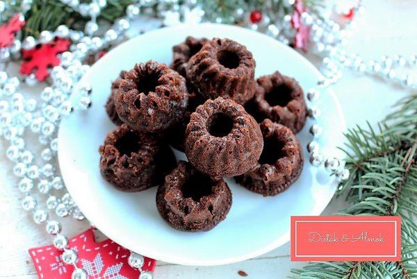 mézeskalácsos brownie karácsony szénhidrát diéta cukorbetegség inzulinrezisztencia