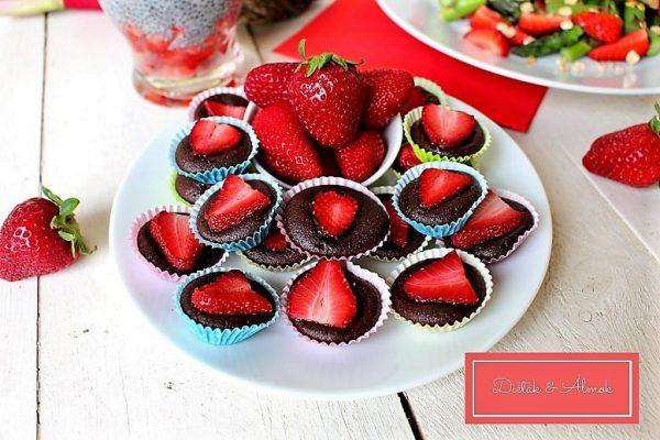 epres mini brownie desszert szénhidrát diéta cukorbetegség inzulinrezisztencia