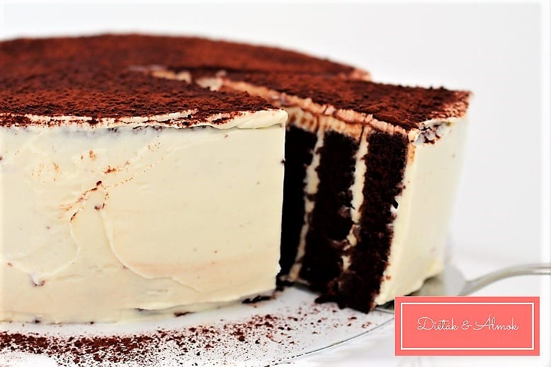 tiramisu torta liszt nélkül szénhidrát diéta cukorbetegség inzulinrezisztencia