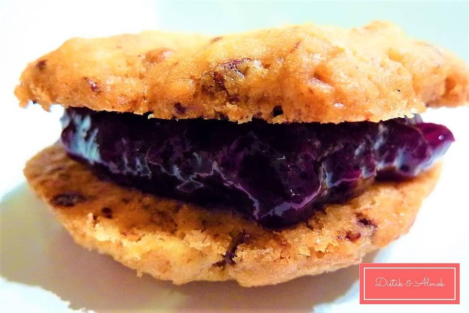 amerikai süti keksz desszert cukormentes szénhidrát diéta cukorbetegség inzulinrezisztencia