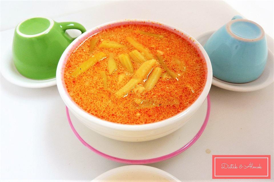 egyszerű zöldbab leves szénhidrát diéta cukorbetegség inzulinrezisztencia