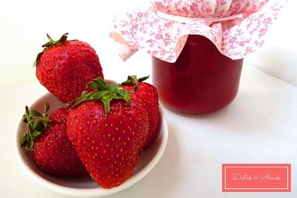cukormentes eper lekvár szénhidrát diéta cukorbetegség inzulinrezisztencia