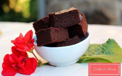 Egyszerű cukkinis brownie liszt nélkül