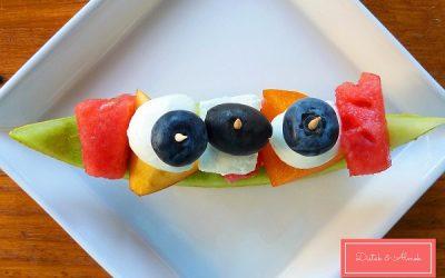 Gyümölcscsónak: színes, ínycsiklandó falatkák hétvégére