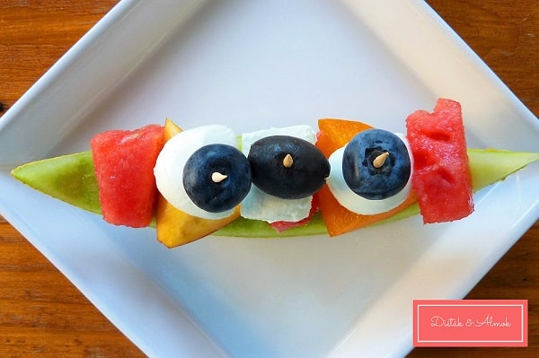 gyümölcs csónak falatkák szénhidrát diéta cukorbetegség inzulinrezisztencia