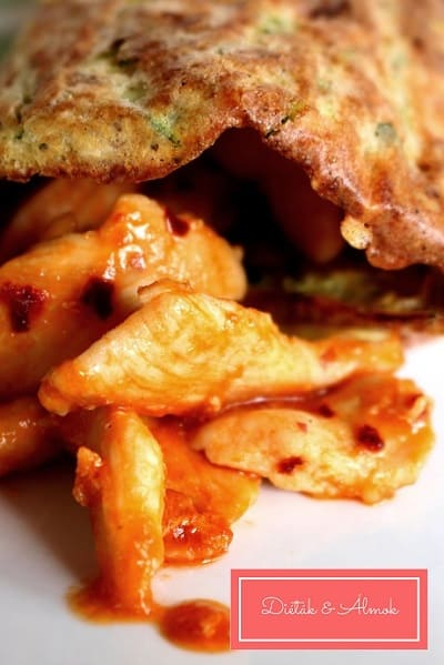 paradicsomos csirke cukkini lángos szénhidrát diéta cukorbetegség inzulinrezisztencia