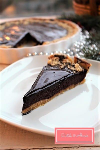 sütőtökös cukkinis csokis tarte cukormentes desszert szénhidrát diéta cukorbetegség inzulinrezisztencia