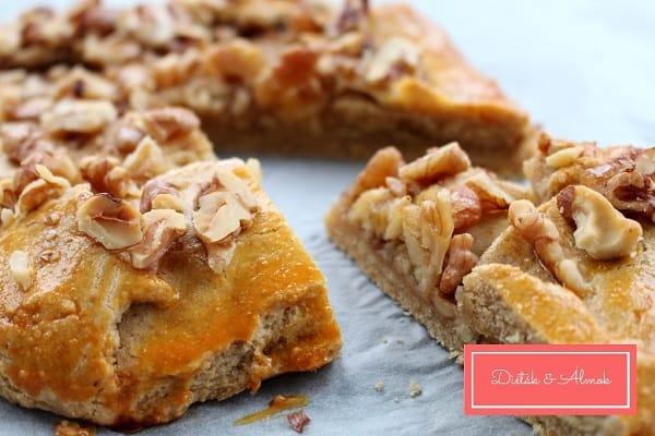 almás galette teljes kiőrlésű cukormentes szénhidrát diéta cukorbetegség inzulinrezisztencia