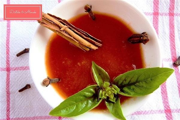cukormentes házi fűszeres ketchup szénhidrát diéta cukorbetegség inzulinrezisztencia