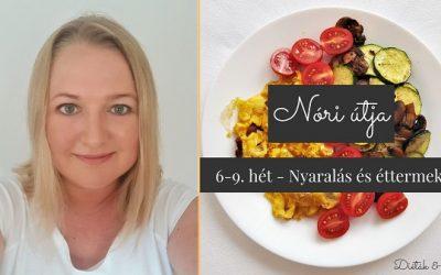 Nóri útja 6-9. hét: nyaralás és IR-es éttermi élmények, ahol jót ettem
