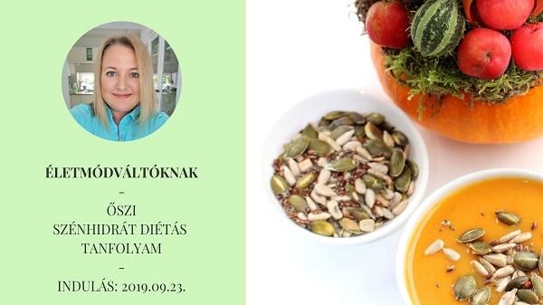 szénhidrát diéta tanfolyam életmódváltás étrend