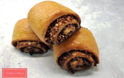 Csokis-mogyorós párna cukor nélkül