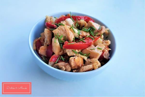 zöldséges csirke szénhidrát diéta cukorbetegség inzulinrezisztencia étrend
