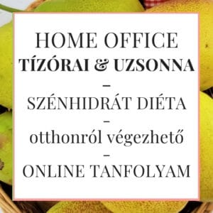 home office tízórai uzsonna